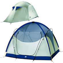 photo: The North Face Bedrock 55 three-season tent