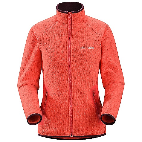 photo: Arc'teryx Women's Apache Cardigan fleece jacket