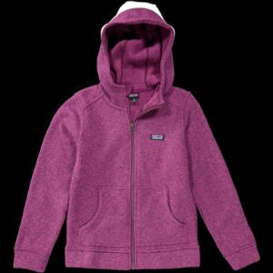 photo: Patagonia Girls' Better Sweater Hoody fleece jacket