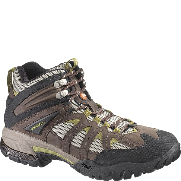 photo: Merrell Ridgeline Mid Ventilator hiking boot