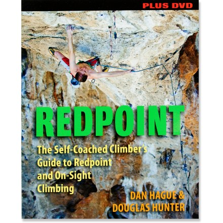 Stackpole Books Redpoint: The Self-Coached Climber's Guide to Redpoint and On-Sight Climbing - Book with DVD