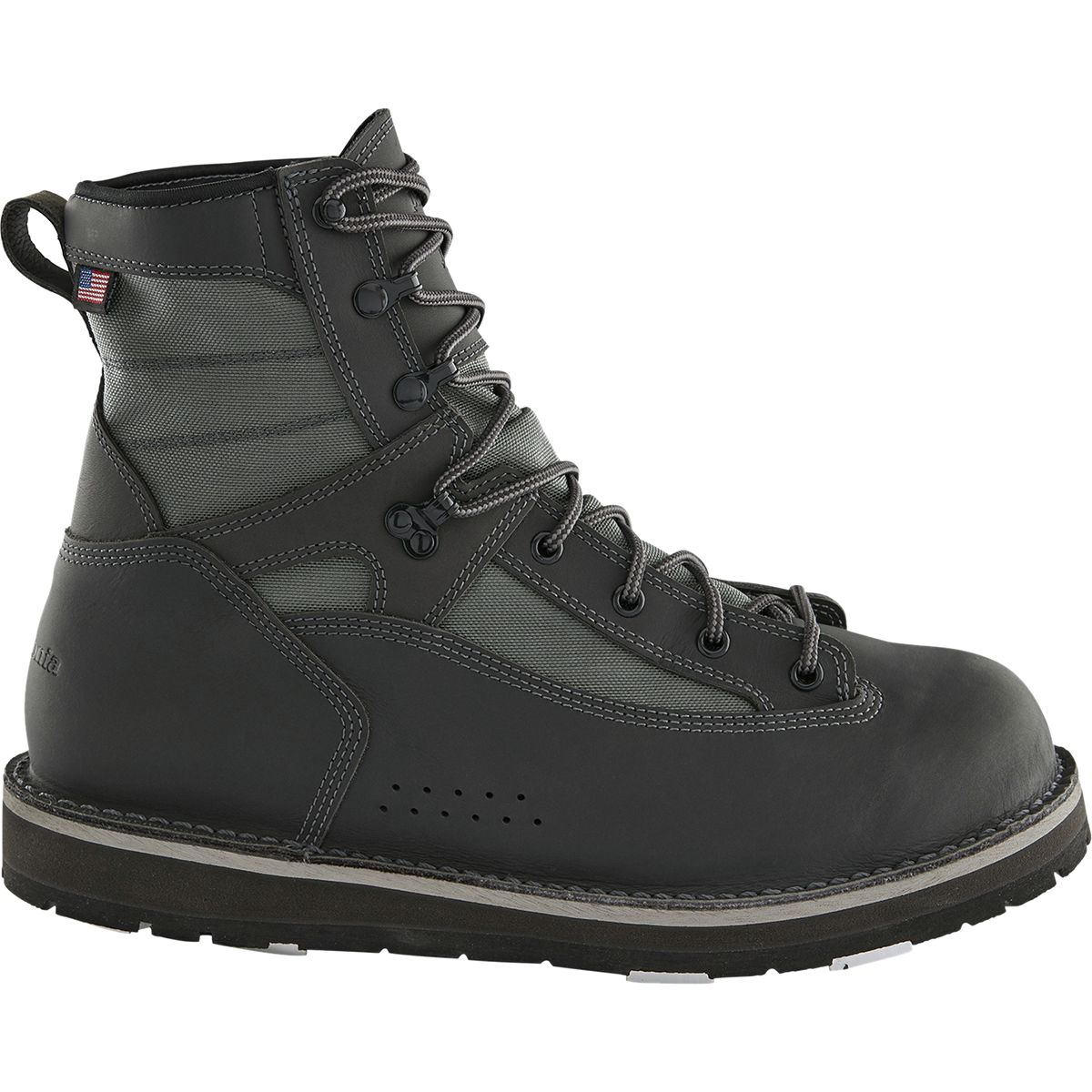 photo: Patagonia Foot Tractor Wading Boots - Aluminum Bar (Built by Danner) wading boots