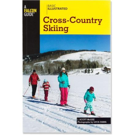 photo: Falcon Guides Basic Illustrated Cross-Country Skiing backcountry ski book