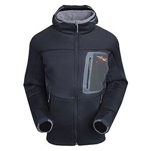 photo of a Sitka Gear fleece jacket