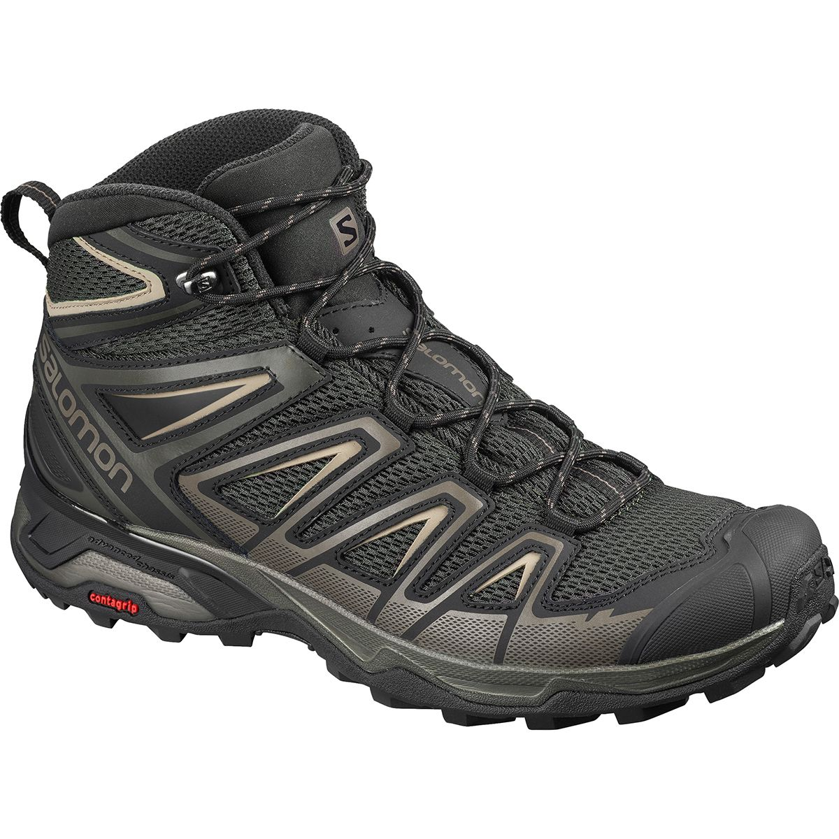 photo: Salomon X Ultra Mid 3 Aero hiking boot