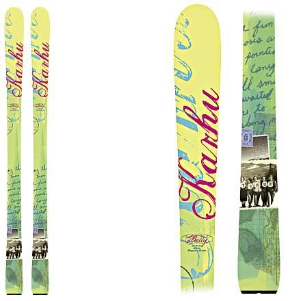 photo: Karhu Betty alpine touring/telemark ski