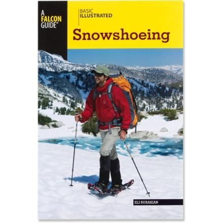 photo: Falcon Guides Basic Illustrated Snowshoeing skills book