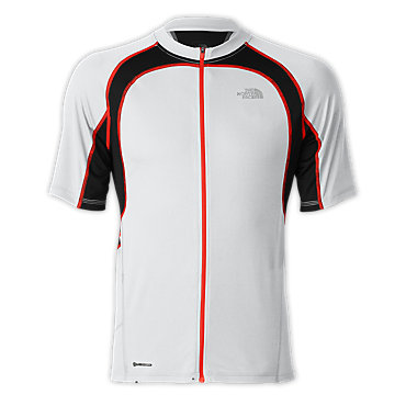 photo: The North Face LWH Full Zip Jersey short sleeve performance top