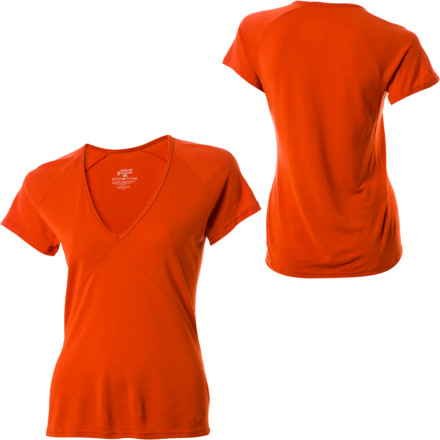 photo: Patagonia Women's Merino 2 Lightweight T-Shirt base layer top