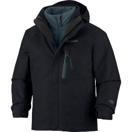 photo: Columbia Boys' Tonpaite Interchange component (3-in-1) jacket