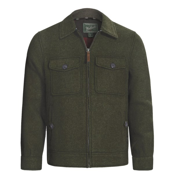 photo: Woolrich Plateau Jacket wool jacket