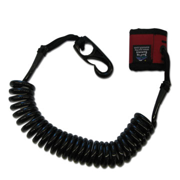 Surf to Summit Coiled Paddle Leash - Touring 8'