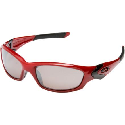 Oakley OO Polarized Straight Jacket Sunglasses