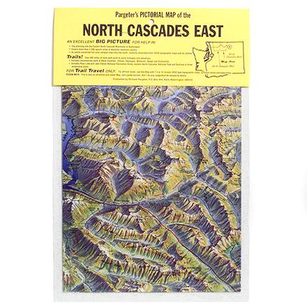 photo of a Richard Pargeter us pacific states paper map