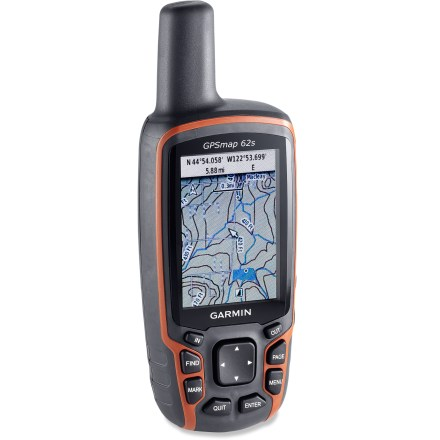 photo: Garmin GPSMap 62s handheld gps receiver