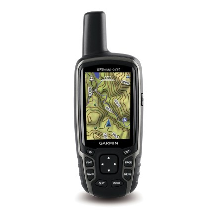 photo: Garmin GPSMap 62st handheld gps receiver