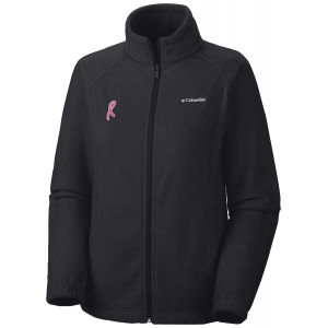 photo: Columbia Tested Tough in Pink Benton Springs Full Zip fleece jacket