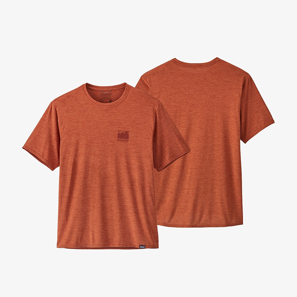 photo: Patagonia Capilene Cool Daily Graphic Shirt short sleeve performance top