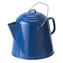 photo: GSI Outdoors Enamelware 20 Cup Coffee Boiler kettle