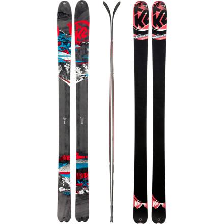 photo: K2 HardSide alpine touring/telemark ski