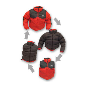 Mountain Sprouts Stand Up Down Jacket