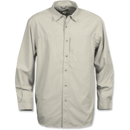 White Sierra Swamp Shirt Insect Shield