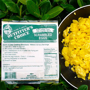 Cache Lake Foods Outfitter's Choice Scrambled Eggs