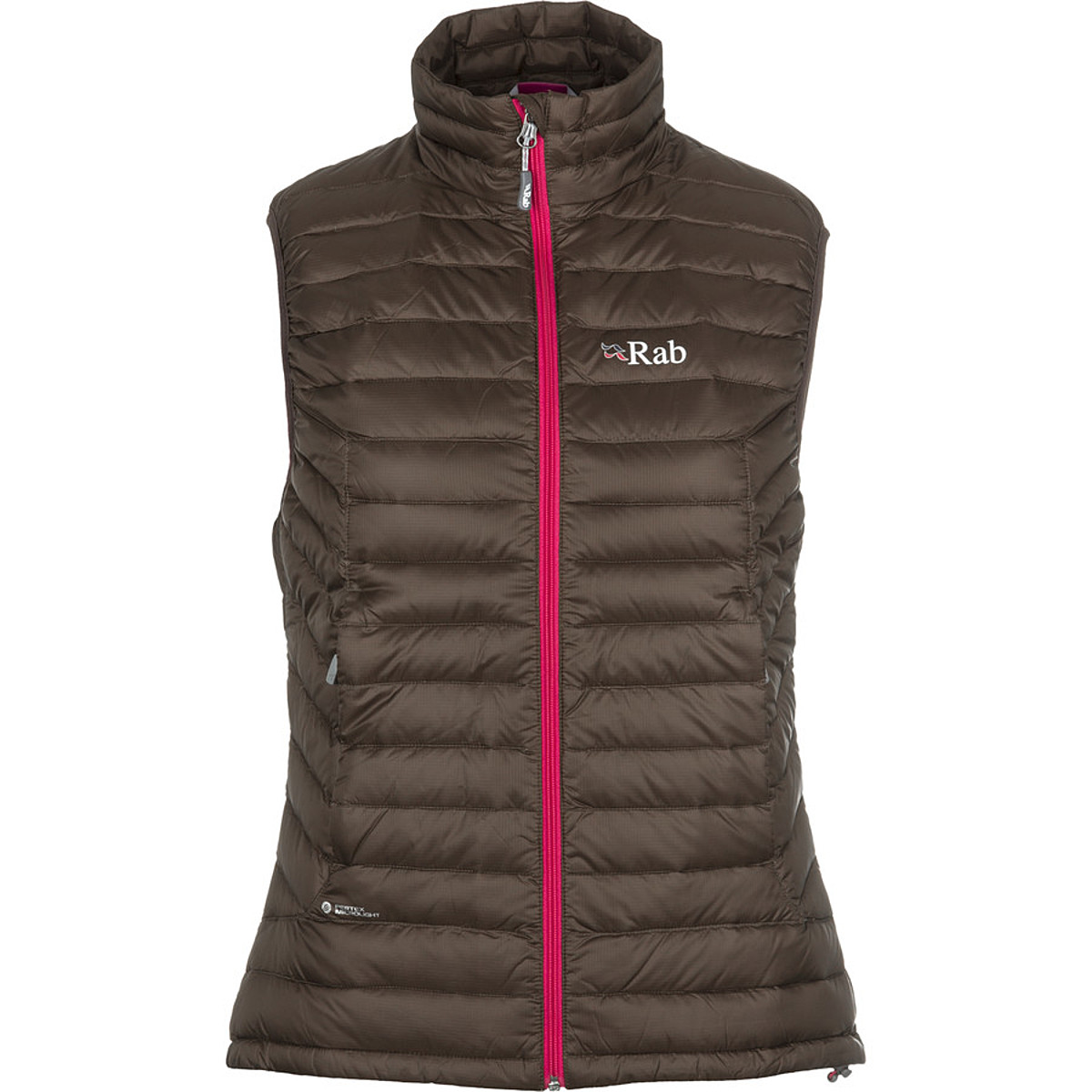 photo: Rab Women's Microlight Vest down insulated vest