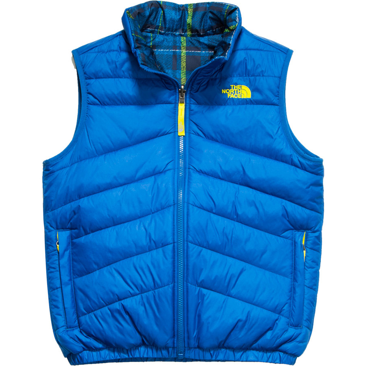 photo: The North Face Boys' Reversible Perrito Vest synthetic insulated vest