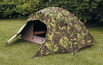 You can find all of the specs for it at Eurekamilitarytents.com & Eureka! Combat Tent Reviews - Trailspace.com