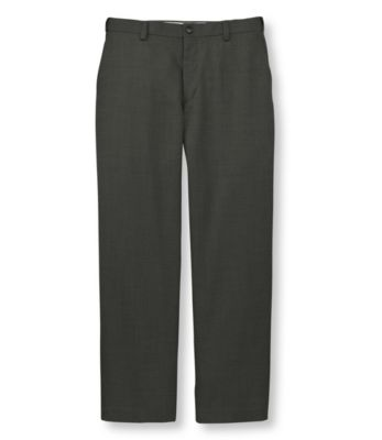 L.L.Bean Year-Round Wool Trousers