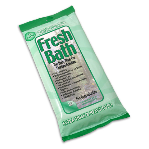 Adventure Medical Kits Fresh Bath Body Wipes