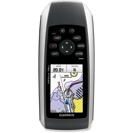 photo: Garmin GPSMap 78SC handheld gps receiver