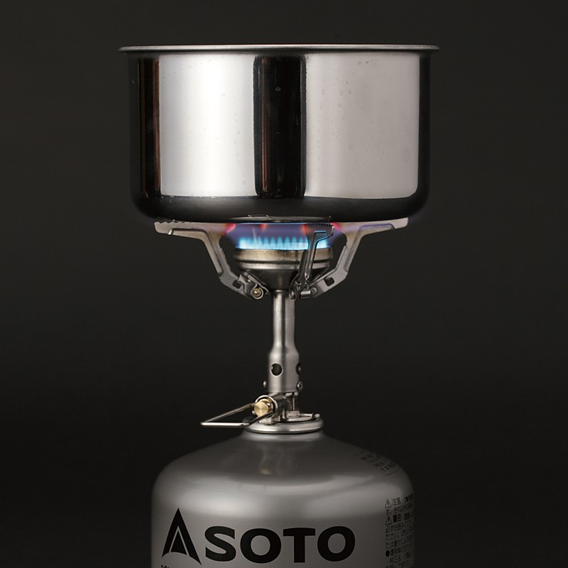 photo: Soto Amicus without Igniter compressed fuel canister stove