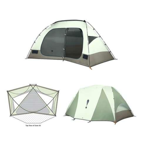 photo: Eureka! Suite V6 tent/shelter