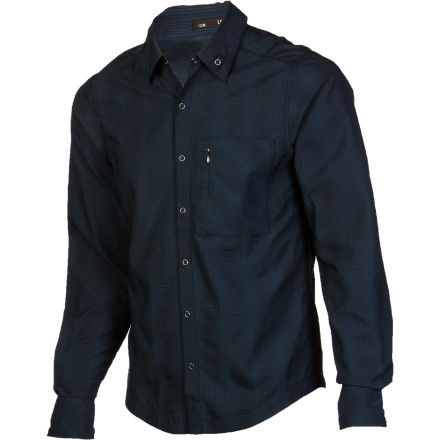 photo: Nau Lightbeam Shirt hiking shirt