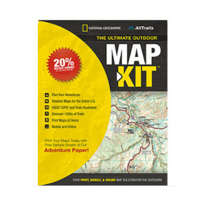 photo: National Geographic Ultimate Outdoor Map Kit navigation tool