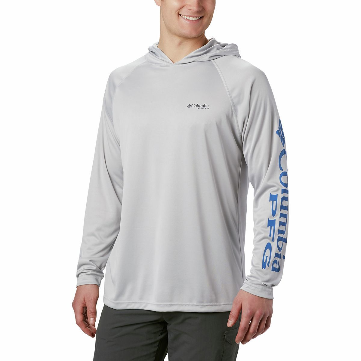 photo: Columbia Terminal Tackle Hoodie long sleeve performance top