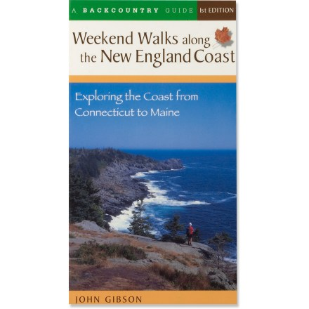 photo: Countryman Press Weekend Walks along the New England Coast us northeast guidebook