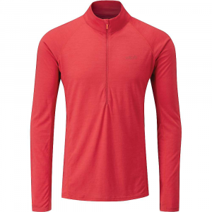photo: Rab Merino+ 160 Long Sleeve Zip Tee base layer top
