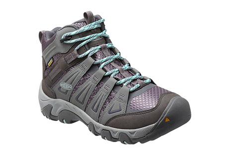 photo: Keen Women's Oakridge Waterproof Mid hiking boot