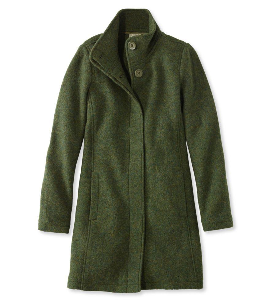 L.L.Bean Boiled Wool Coat