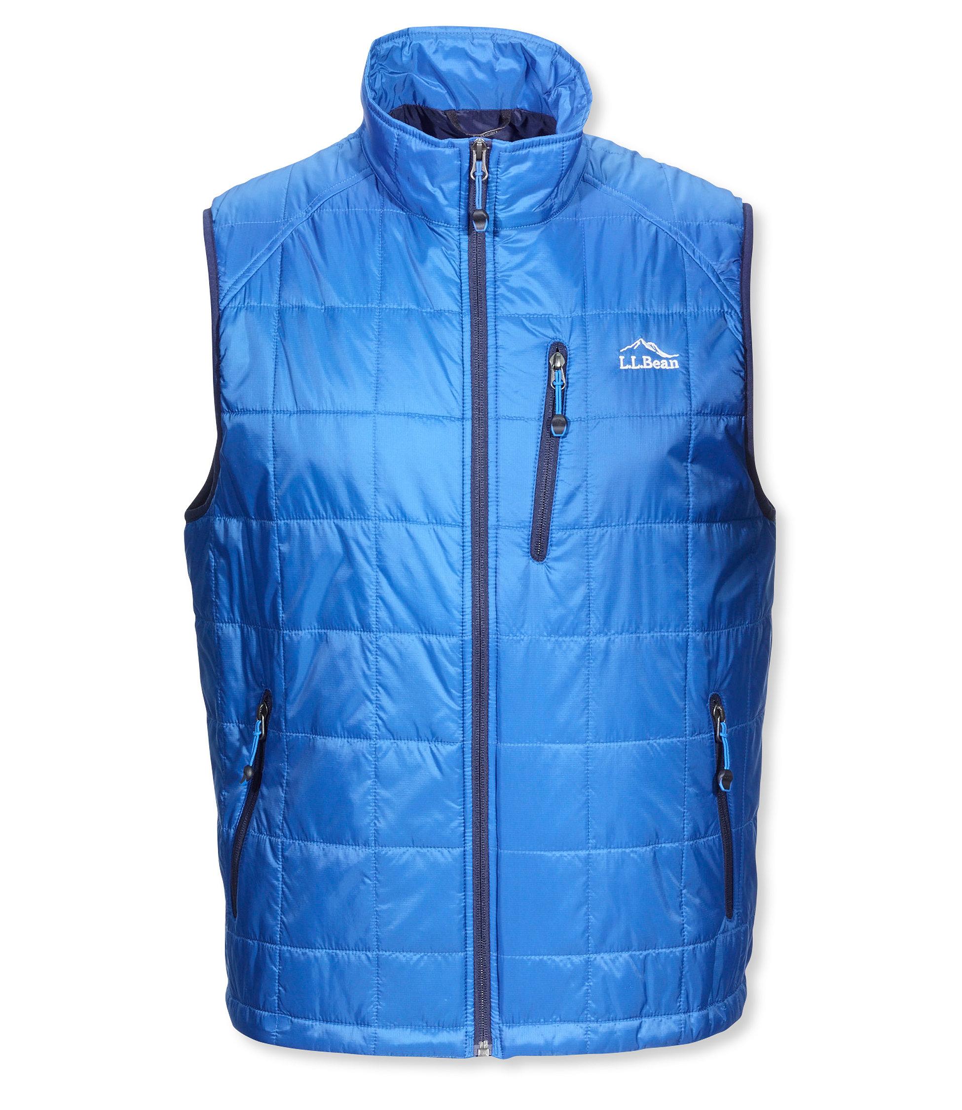 photo: L.L.Bean Men's Ascent Packaway Vest synthetic insulated vest
