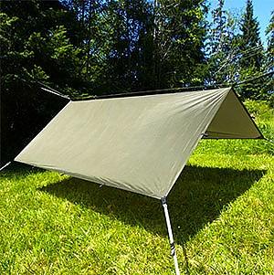 photo: Aqua Quest Safari Sil Tarp Square tarp/shelter