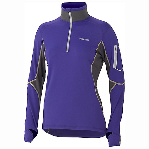 photo: Marmot Women's Deviate 1/2 Zip long sleeve performance top