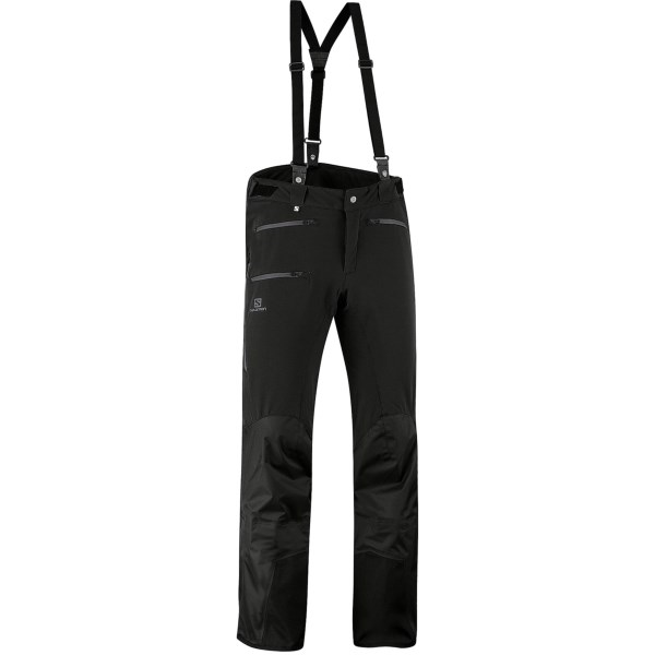 photo: Salomon Tour Hybrid Pants soft shell pant