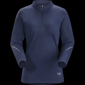 photo: Arc'teryx Ensa Zip Neck LS long sleeve performance top