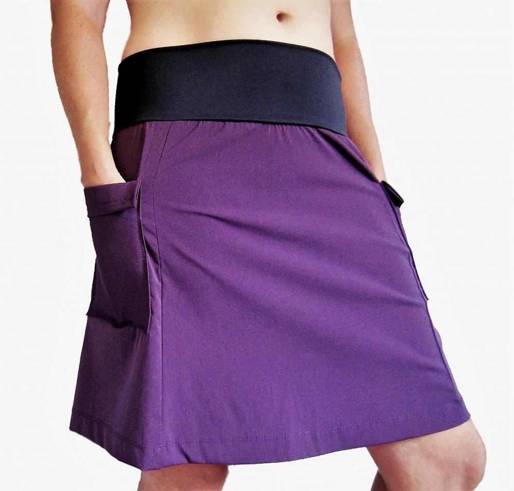 photo: Purple Rain Adventure Skirt hiking skirt
