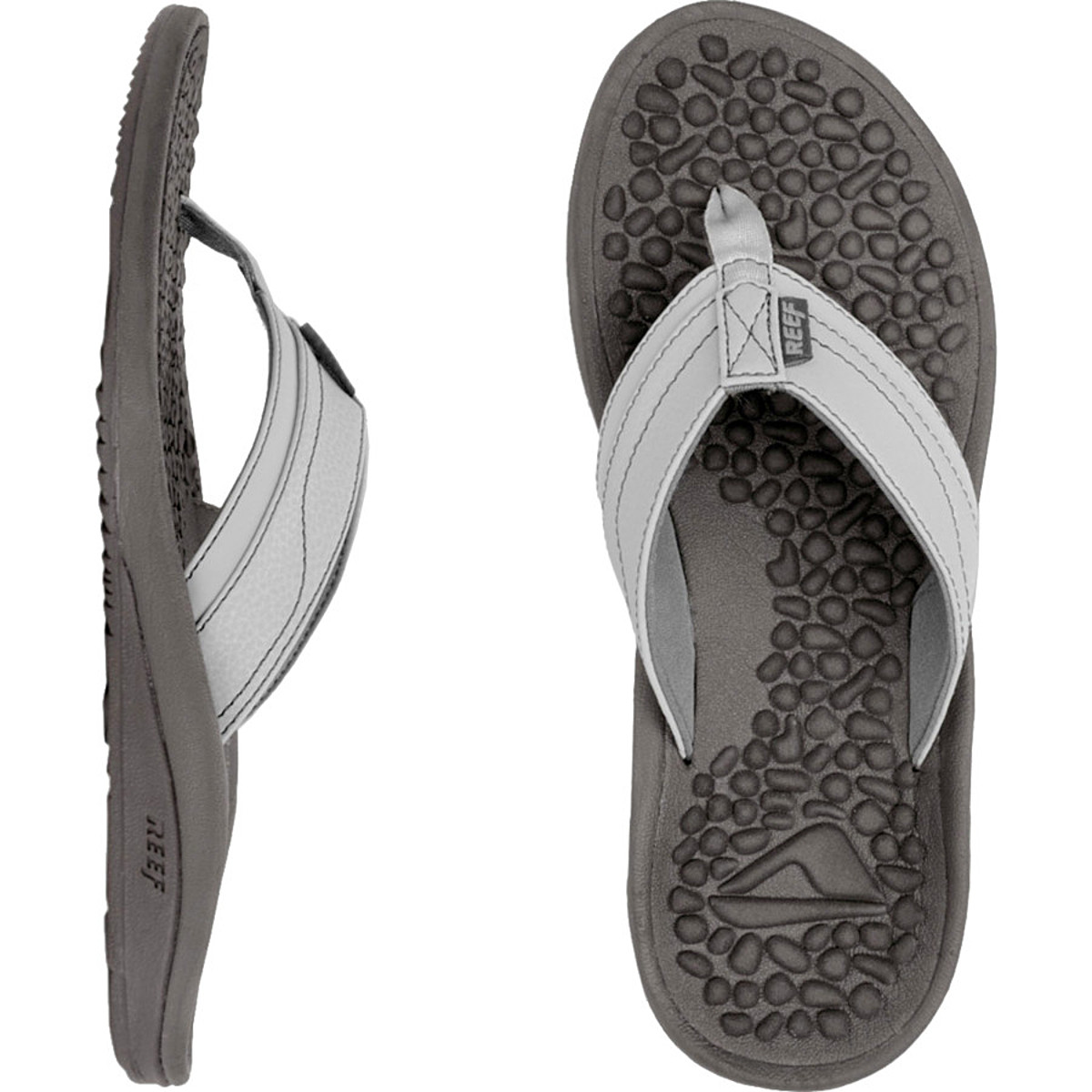 Reef Playa Negra Flip Flops, Brown