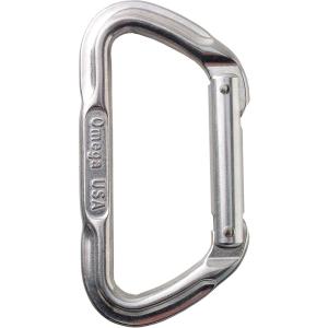 photo: Omega Pacific Lite Standard D non-locking carabiner